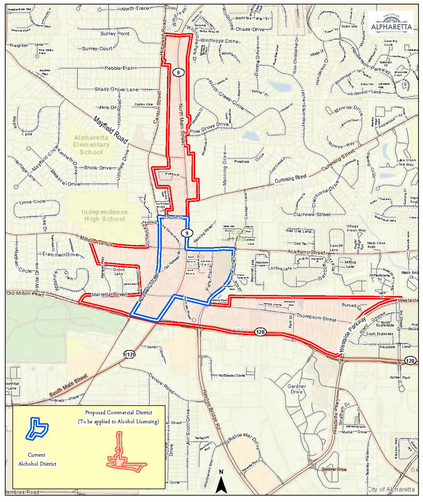 Alpharetta Considering Expansion Of Downtown Open Container District