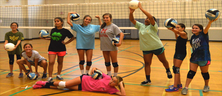 Volleyball-Camp