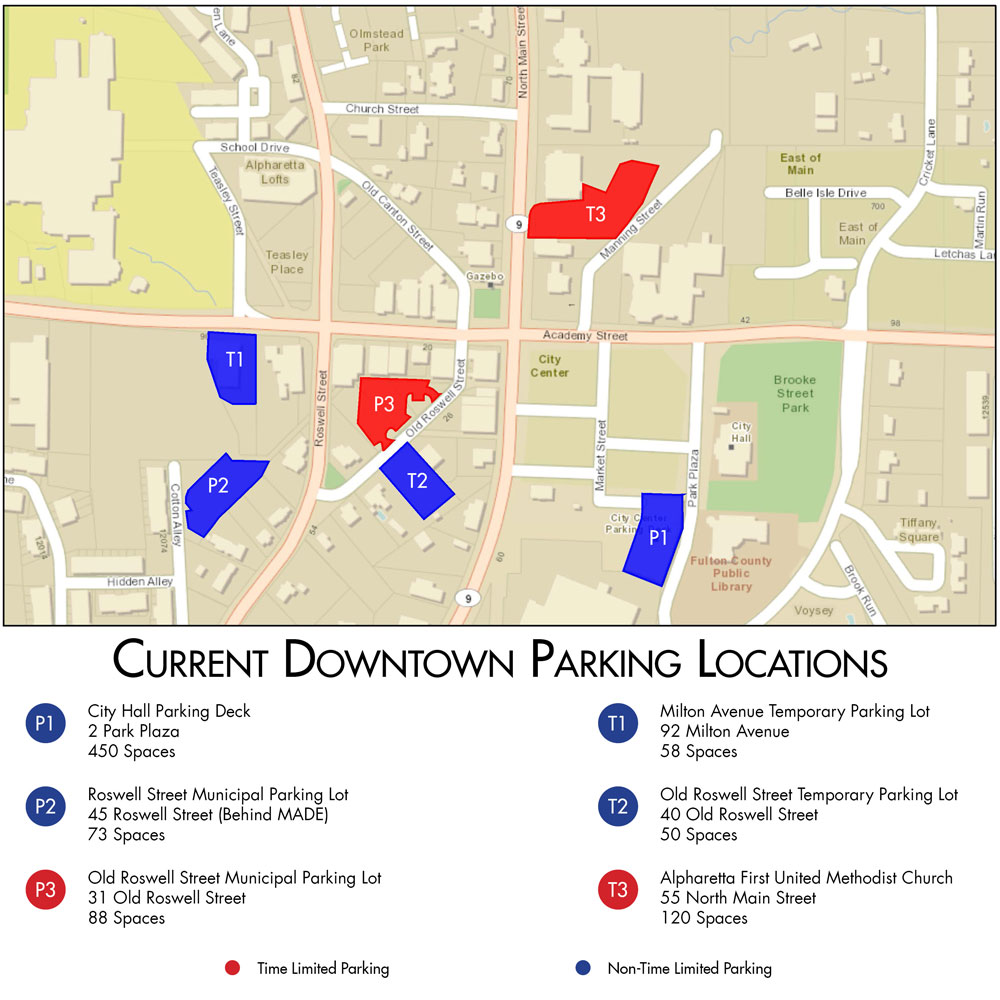 Current-Downtown-Parking-Locations