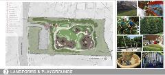 Landforms And Playgrounds Concept