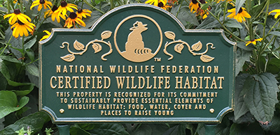 National Wildlife Habitat Signage - Photo 1