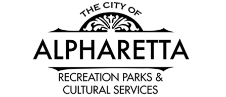 City Of Alpharetta Logo - Recreation Parks And Cultural Services - Black - No Outline