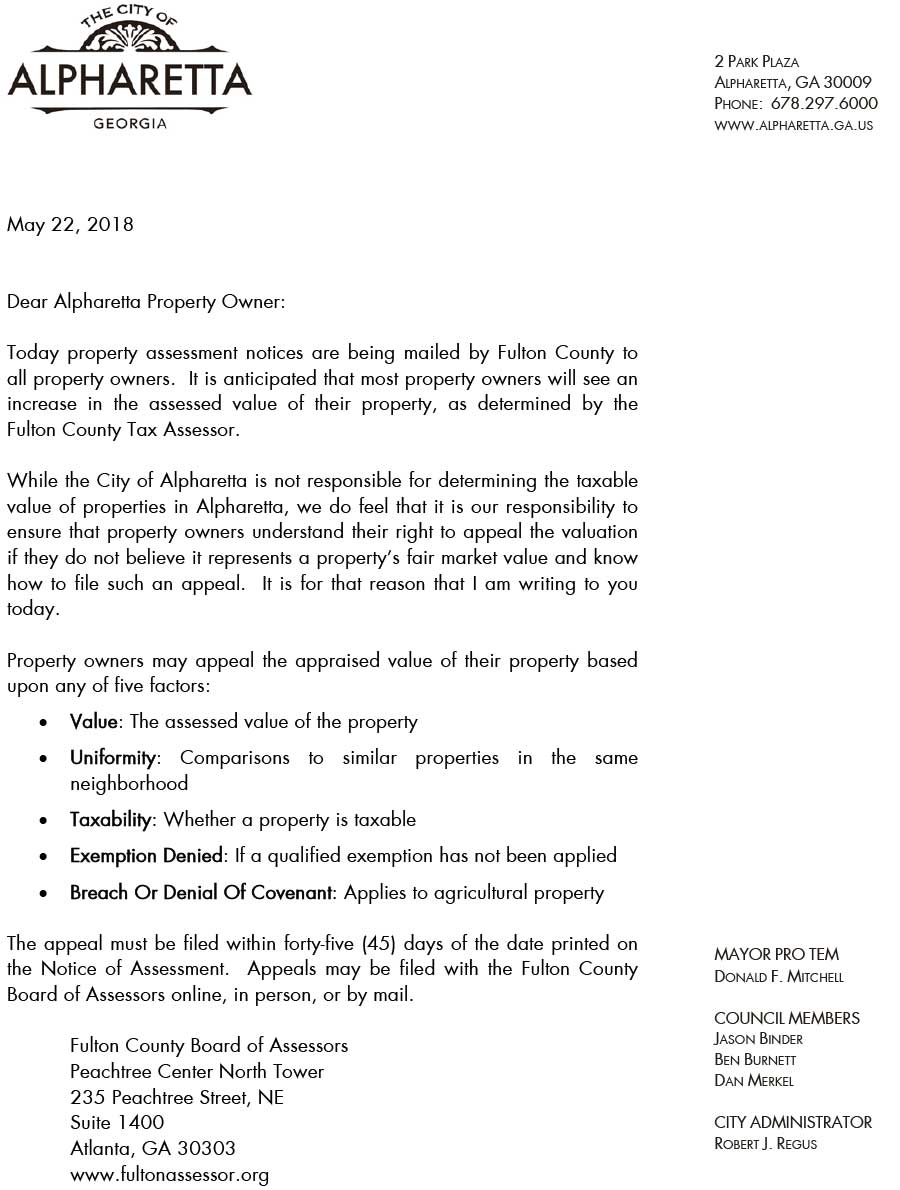 Property-Assessment-Appeals---Letter-From-Mayor-Mitchell-1