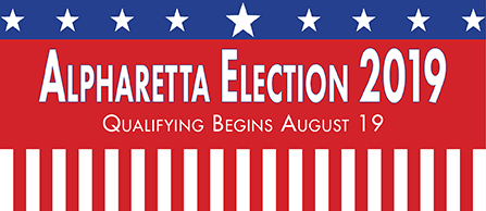 Alpharetta Election 2019 News Item Graphic