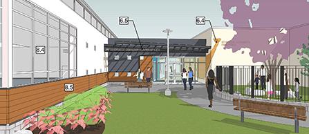 Eastside Community Center Rendering - News Item