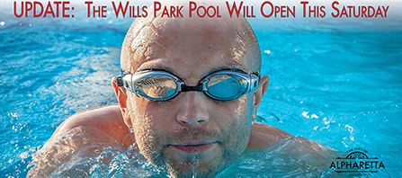Updated Pool Opening - News