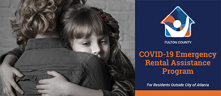 Fulton County Rental Assistance Graphic