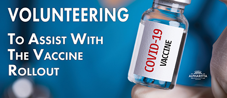 Volunteering For Vaccine Rollout News Item Graphic